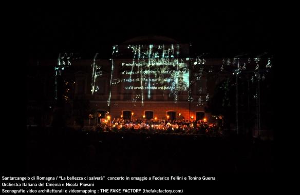 the fake factory videomapping concerto santarcangelo Federico Fellini Tonino Guerra_00062