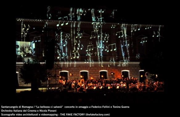 the fake factory videomapping concerto santarcangelo Federico Fellini Tonino Guerra_00065