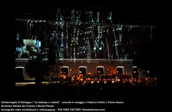 the fake factory videomapping concerto santarcangelo Federico Fellini Tonino Guerra_00066