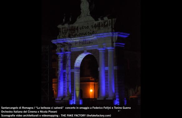 the fake factory videomapping concerto santarcangelo Federico Fellini Tonino Guerra_00067