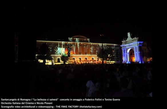 the fake factory videomapping concerto santarcangelo Federico Fellini Tonino Guerra_00068