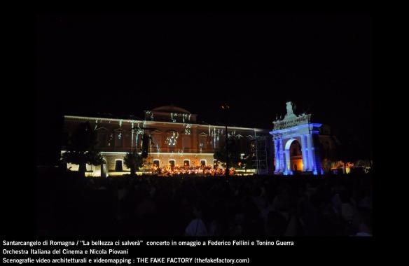the fake factory videomapping concerto santarcangelo Federico Fellini Tonino Guerra_00069