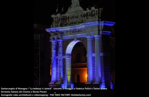 the fake factory videomapping concerto santarcangelo Federico Fellini Tonino Guerra_00070