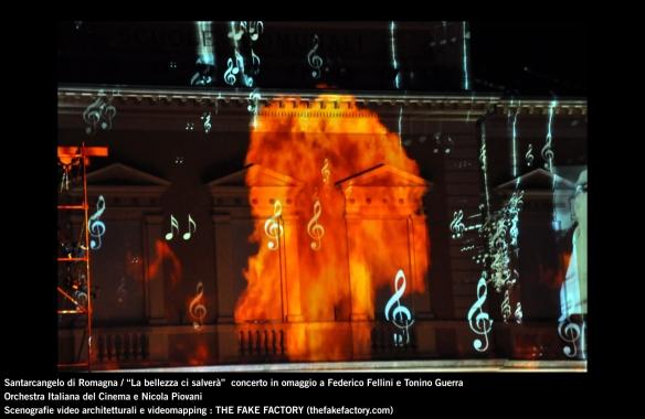 the fake factory videomapping concerto santarcangelo Federico Fellini Tonino Guerra_00072