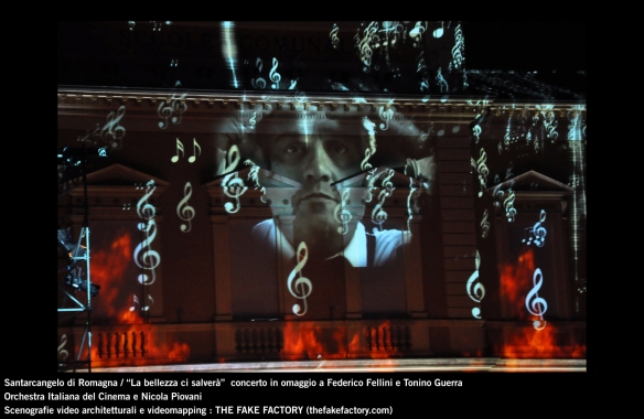 the fake factory videomapping concerto santarcangelo Federico Fellini Tonino Guerra_00073