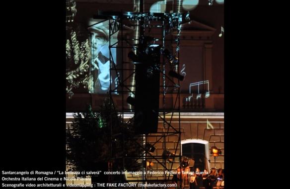 the fake factory videomapping concerto santarcangelo Federico Fellini Tonino Guerra_00074