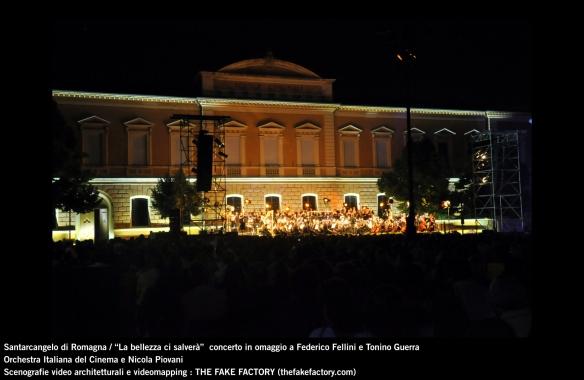 the fake factory videomapping concerto santarcangelo Federico Fellini Tonino Guerra_00075