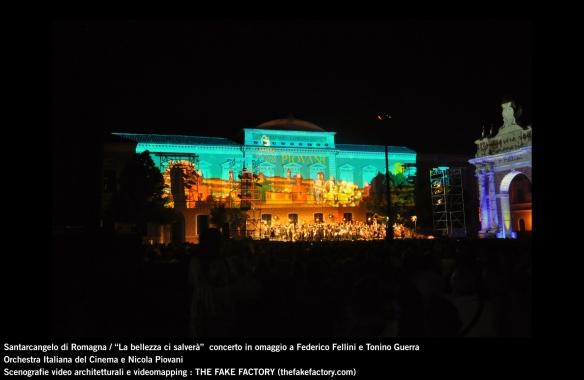 the fake factory videomapping concerto santarcangelo Federico Fellini Tonino Guerra_00076