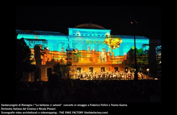 the fake factory videomapping concerto santarcangelo Federico Fellini Tonino Guerra_00077