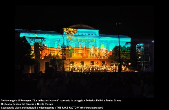 the fake factory videomapping concerto santarcangelo Federico Fellini Tonino Guerra_00079