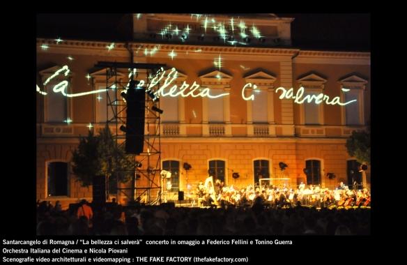 the fake factory videomapping concerto santarcangelo Federico Fellini Tonino Guerra_00081