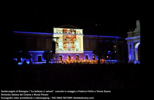 the fake factory videomapping concerto santarcangelo Federico Fellini Tonino Guerra_00083
