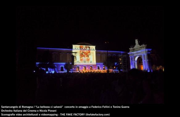 the fake factory videomapping concerto santarcangelo Federico Fellini Tonino Guerra_00084