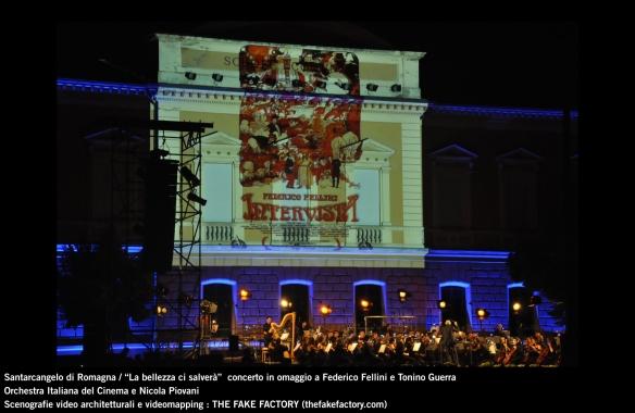 the fake factory videomapping concerto santarcangelo Federico Fellini Tonino Guerra_00085