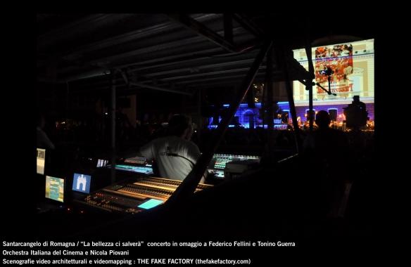 the fake factory videomapping concerto santarcangelo Federico Fellini Tonino Guerra_00086