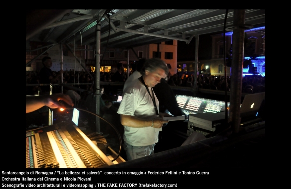 the fake factory videomapping concerto santarcangelo Federico Fellini Tonino Guerra_00088