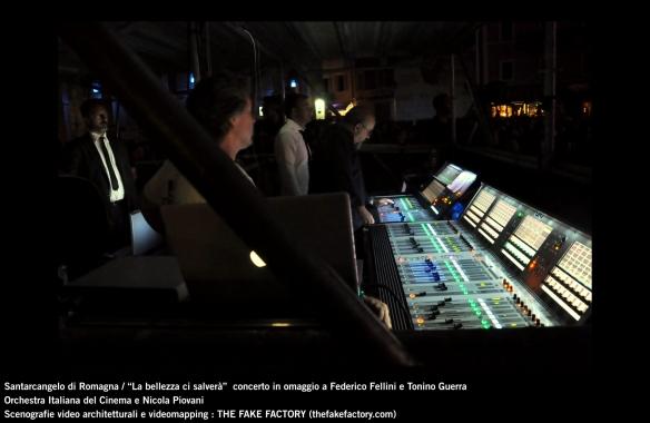 the fake factory videomapping concerto santarcangelo Federico Fellini Tonino Guerra_00091