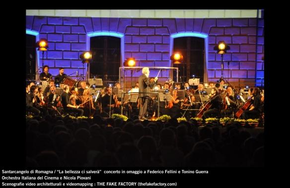 the fake factory videomapping concerto santarcangelo Federico Fellini Tonino Guerra_00092