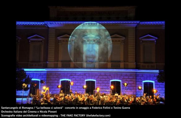 the fake factory videomapping concerto santarcangelo Federico Fellini Tonino Guerra_00094