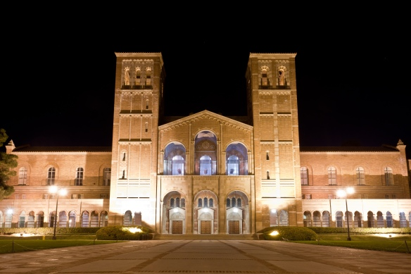 UCLA ROYCE HALL LOS ANGELES