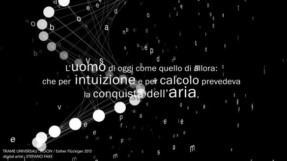 TRAME UNIVERSALI - DIGITAL LETTERING STEFANO FAKE - THE FAKE FACTORY_01113