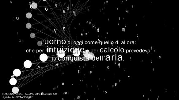 TRAME UNIVERSALI - DIGITAL LETTERING STEFANO FAKE - THE FAKE FACTORY_01142