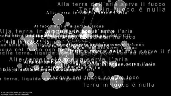TRAME UNIVERSALI - DIGITAL LETTERING STEFANO FAKE - THE FAKE FACTORY_129