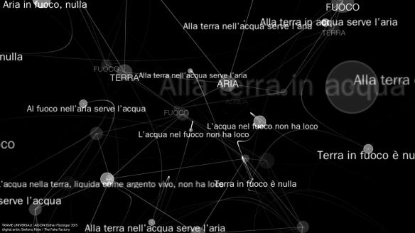 TRAME UNIVERSALI - DIGITAL LETTERING STEFANO FAKE - THE FAKE FACTORY_141