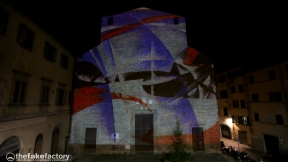FLIGHT FIRENZE VIDEOMAPPING FAKE FACTORY_87192