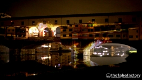 PONTE VECCHO FIRENZE VIDEOMAPPING FAKE_07425