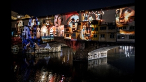 STEFANO FAKE THE FAKE FACTORY VIDEOPROIEZIONI FLIGHT 2015 PONTE VECCHIO FIRENZE_00007