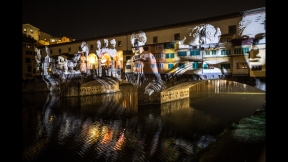 STEFANO FAKE THE FAKE FACTORY VIDEOPROIEZIONI FLIGHT 2015 PONTE VECCHIO FIRENZE_00023