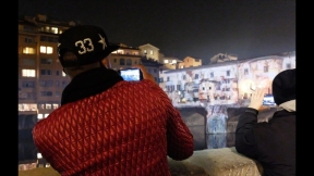STEFANO FAKE THE FAKE FACTORY VIDEOPROIEZIONI FLIGHT 2015 PONTE VECCHIO FIRENZE_00057