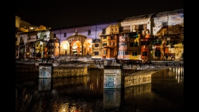 STEFANO FAKE THE FAKE FACTORY VIDEOPROIEZIONI FLIGHT 2015 PONTE VECCHIO FIRENZE_00144