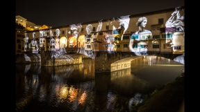 STEFANO FAKE THE FAKE FACTORY VIDEOPROIEZIONI FLIGHT 2015 PONTE VECCHIO FIRENZE_00147