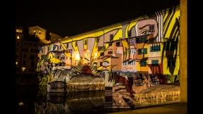 STEFANO FAKE THE FAKE FACTORY VIDEOPROIEZIONI FLIGHT 2015 PONTE VECCHIO FIRENZE_00157