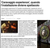 CARAVAGGIO EXPERIENCE 0a1