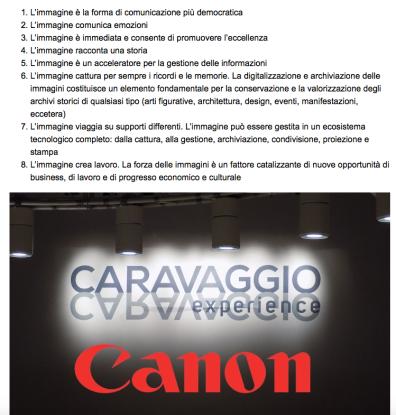 caravaggio experience 102