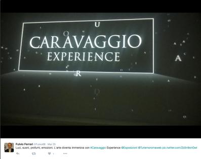 caravaggio experience 153
