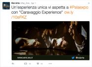 caravaggio experience 185