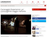 CARAVAGGIO EXPERIENCE PALAZZO ESPOSIZIONI ROMA 30