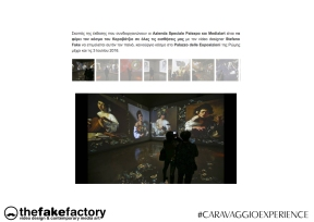CARAVAGGIO EXPERIENCE THE FAKE FACTORY 2_00038
