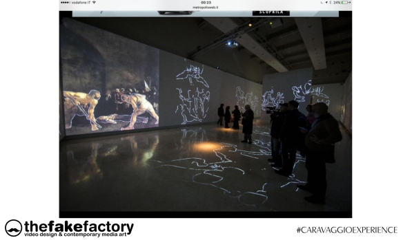 CARAVAGGIO EXPERIENCE THE FAKE FACTORY 2_00257