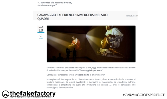 CARAVAGGIO EXPERIENCE THE FAKE FACTORY 2_00425