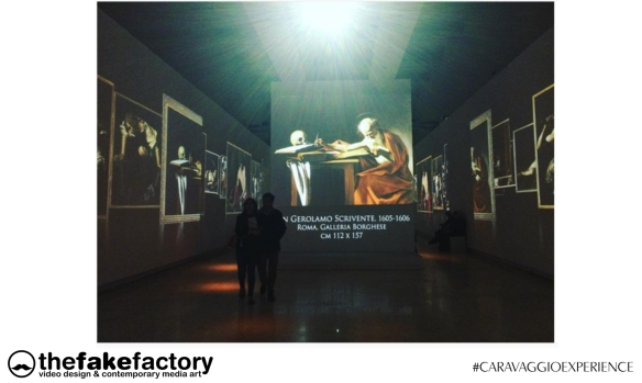 CARAVAGGIO EXPERIENCE THE FAKE FACTORY 2_00626