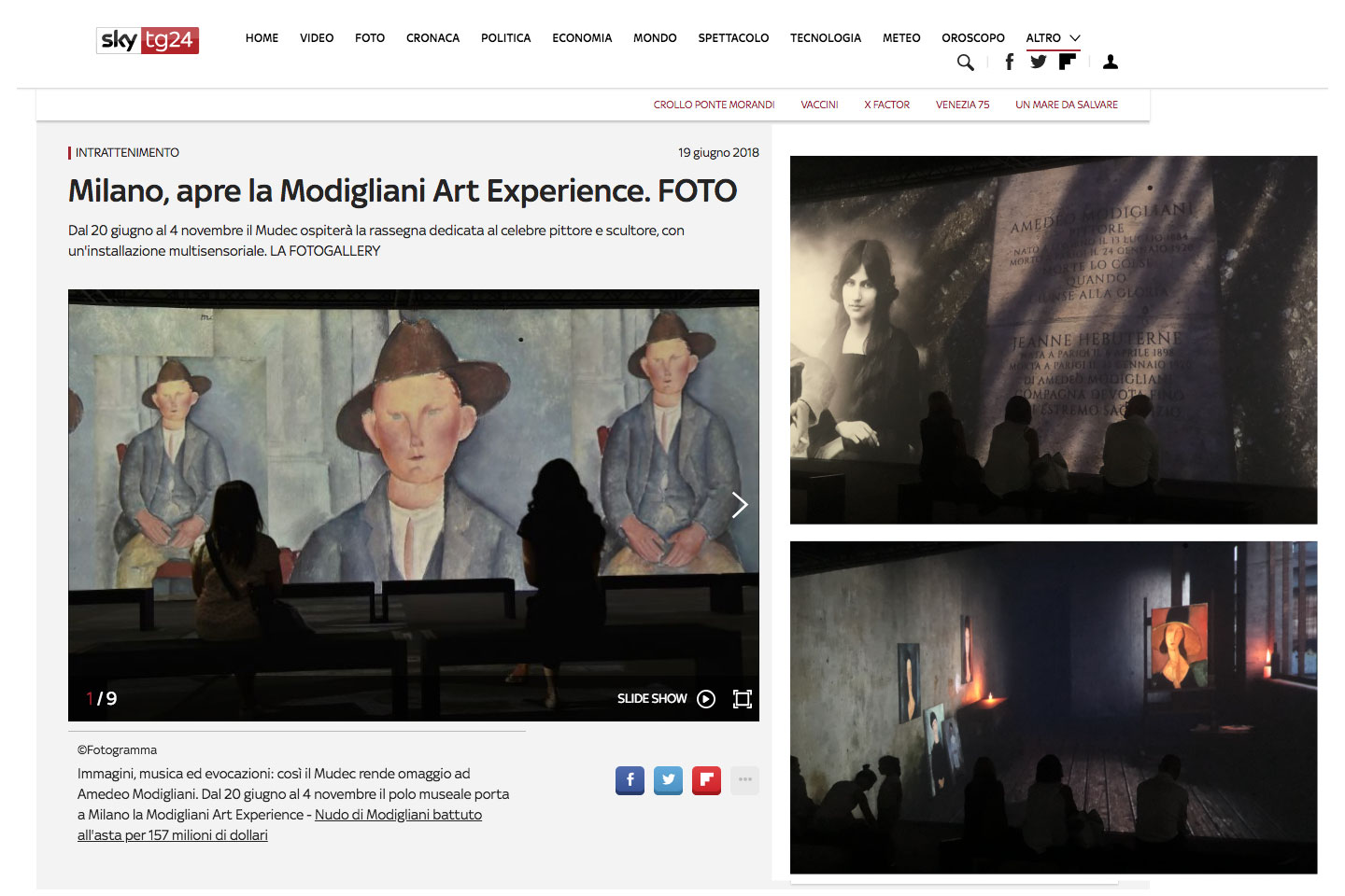 MODIGLIANI ART EXPERIENCE MUDEC MILANO - THE FAKE FACTORY_00001