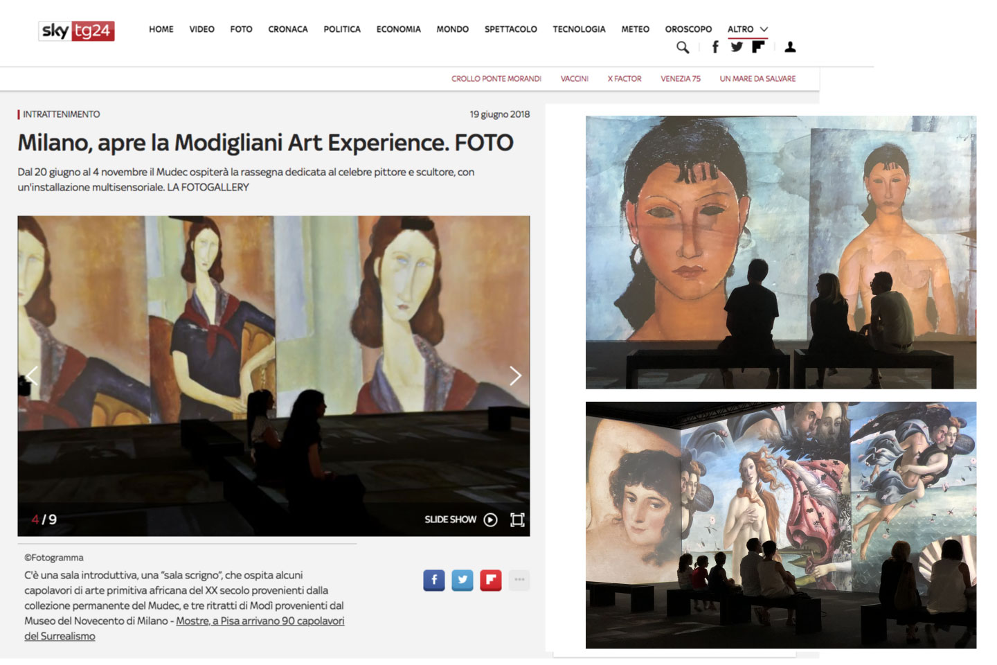 MODIGLIANI ART EXPERIENCE MUDEC MILANO - THE FAKE FACTORY_00003