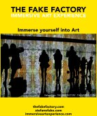 IMMERSIVE ART EXPERIENCE IMMERSIVE ART THE FAKE FACTORY 36