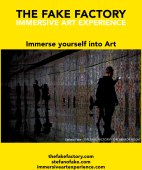 IMMERSIVE ART EXPERIENCE IMMERSIVE ART THE FAKE FACTORY 61