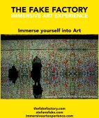 IMMERSIVE ART EXPERIENCE IMMERSIVE ART THE FAKE FACTORY 62